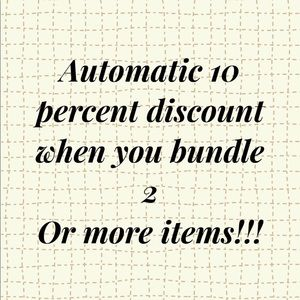 💰💰 Automatic Discount💰💰